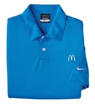 Picture of Men's Nike® Blue DriFit Polo
