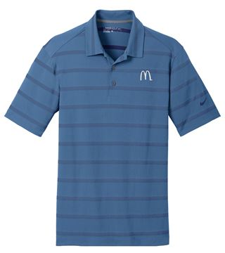 Picture of Men's Nike® Blue Fade Polo