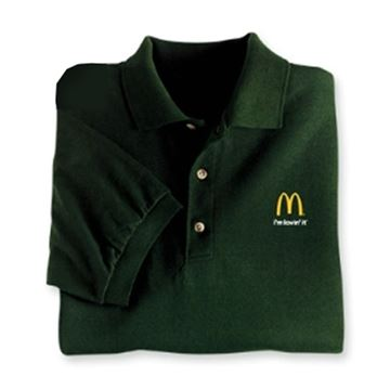 Picture of Forest Green I'm Lovin' It Polo