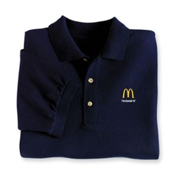 Picture of Navy I'm Lovin' It Polo