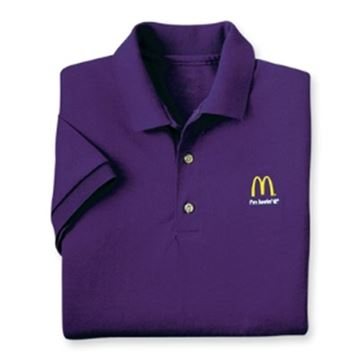 Picture of Purple I'm Lovin' It Polo