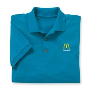 Picture of Sapphire Blue I'm Lovin' It Polo