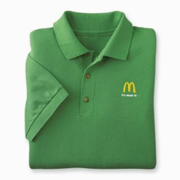Picture of Kelly Green I'm Lovin' It Polo