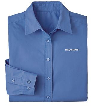Picture of Ladies' Ultramarine Long-Sleeve Event Button Down