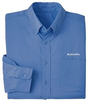 Picture of Men's Ultramarine Long-Sleeve Event Button Down