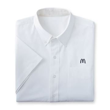 Picture of Men's White Short-Sleeve Event Button Down