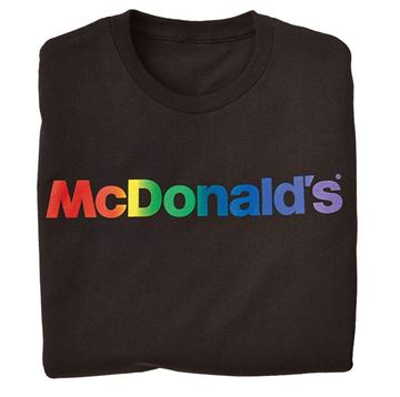 Picture of Rainbow Wordmark T-Shirt