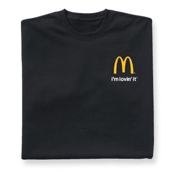 Picture of Black I'm Lovin' It T-Shirt