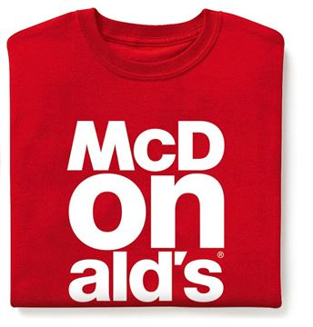 Picture of Red McDonald's Event-T-Shirt