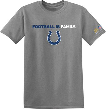 Picture of Indianapolis Colts Football is Family T-Shirt