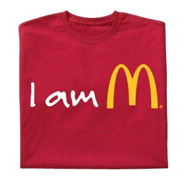 Picture of Red I am McDonald's T-Shirt