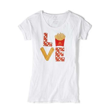 "Picture of ""LOVE"" Ladies' Sleep Shirt"