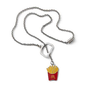 Picture of Fry Box Lariat Necklace