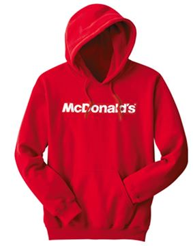 Picture of McDonald's Red Event Hooded Sweatshirt