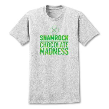 Picture of Grey Shamrock Shake Chocolate Madness  T-Shirt