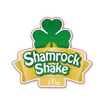 Picture of Shamrock Shake Clover Lapel Pin