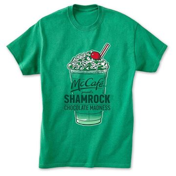 Picture of Green Shamrock Shake Chocolate Madness  T-Shirt