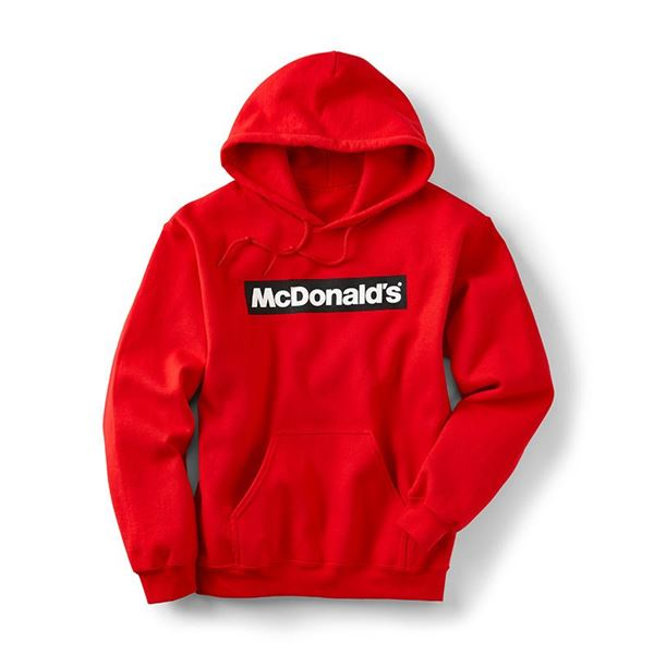 Picture of Block McDonald's Red Hoodie