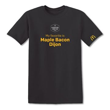 Picture of Signature Crafted Maple Bacon Dijon T-Shirt
