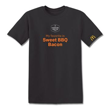Picture of Signature Crafted Sweet BBQ Bacon T-Shirt