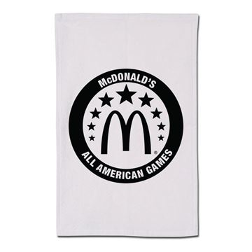 Picture of All American Games White Rally Towel