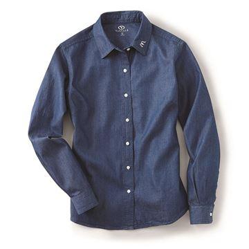 Picture of Ladies' Denim Dress Shirt