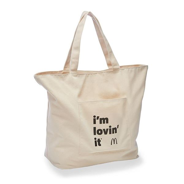 Picture of i'm lovin' it Canvas Tote