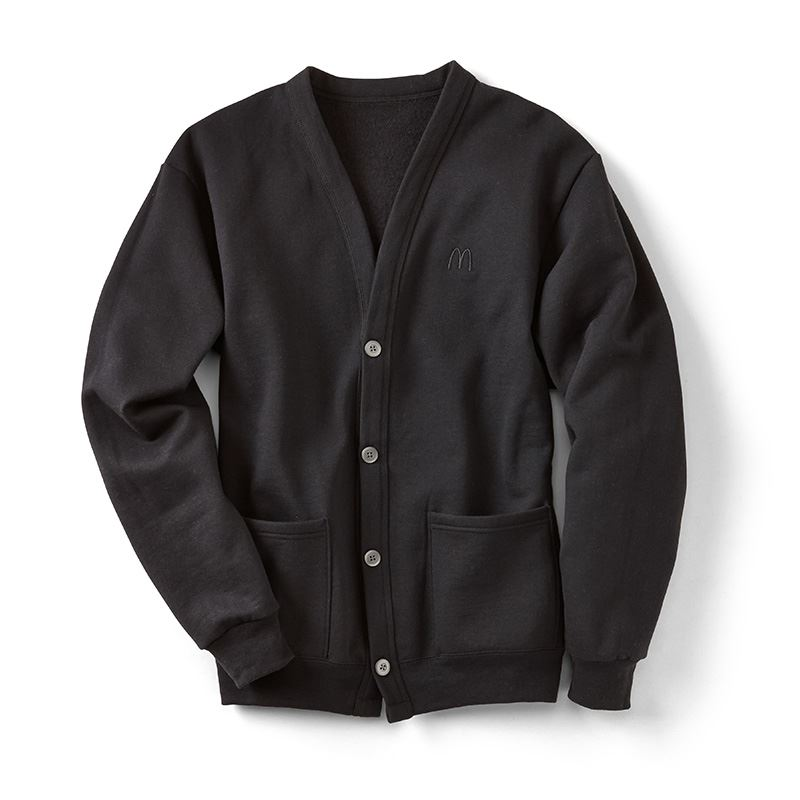 Black Button Down Cardigan - Smilemakers