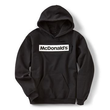 Picture of Block McDonald's Black Hoodie