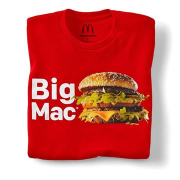 Picture of Red Big Mac T-Shirt