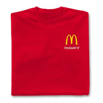 Picture of Red I'm Lovin' It T-Shirt