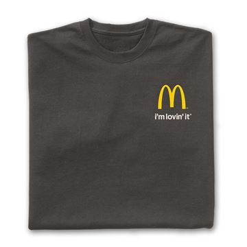 Picture of Grey I'm Lovin' It T-Shirt