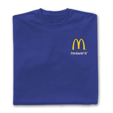 Picture of Blue I'm Lovin' It T-Shirt