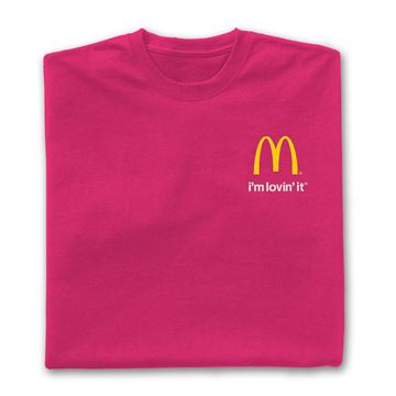 Picture of Pink I'm Lovin' It T-Shirt