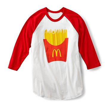 Picture of French Fry Raglan Tee