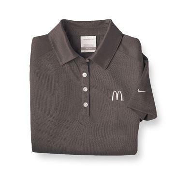 Picture of Ladies' Nike® Grey DriFit Polo