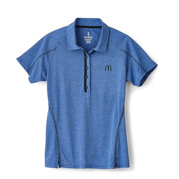 Picture of Ladies' Blue Sport Performance Polo