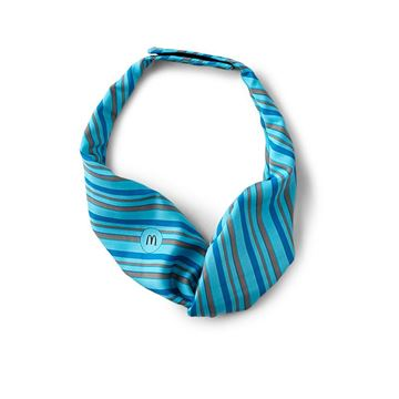 Picture of Ladies' Turquoise Stripe Tie