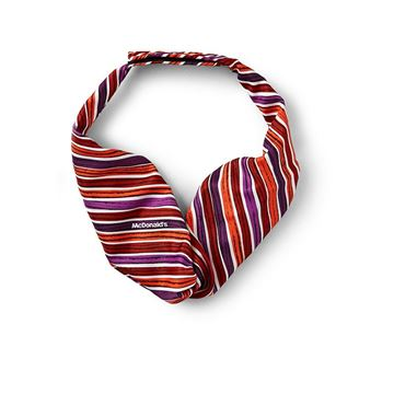 Picture of Ladies' Red and Purple Stripe Tie