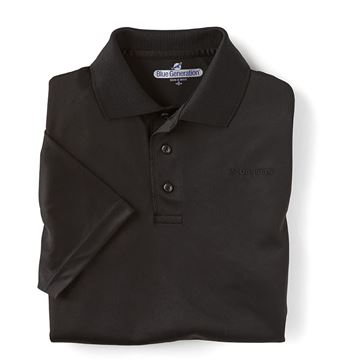 Picture of Men's Black Performance Polo