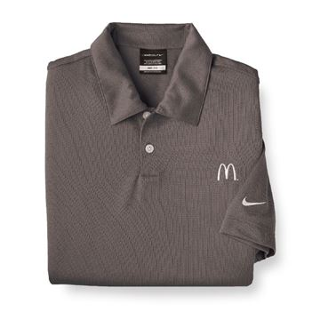 Picture of Men's Nike® Grey DriFit Polo