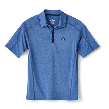 Picture of Men's Blue Sport Performance Polo