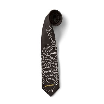Picture of McDonald's Word Bubble Tie