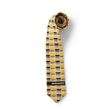 Picture of Men's Burger Pattern Tie