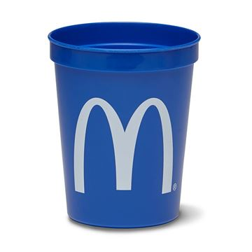 Picture of 16 oz Blue Stadium Cup