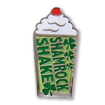 Picture of Shamrock Shake Lapel Pin