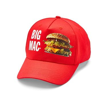 Picture of Red Big Mac Cap