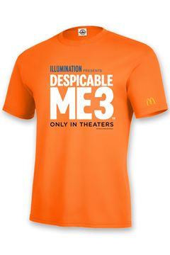 Picture of Orange Despicable Me 3 T-Shirt