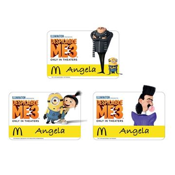 Picture of Character Event Name Badges - 36 per Pack