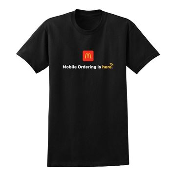 Picture of Mobile Ordering Black T-Shirt